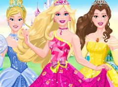Barbie e as Princesas da Disney