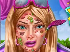 Barbie no Dermatologista