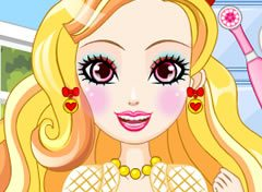 Ever After High Apple White no Dentista